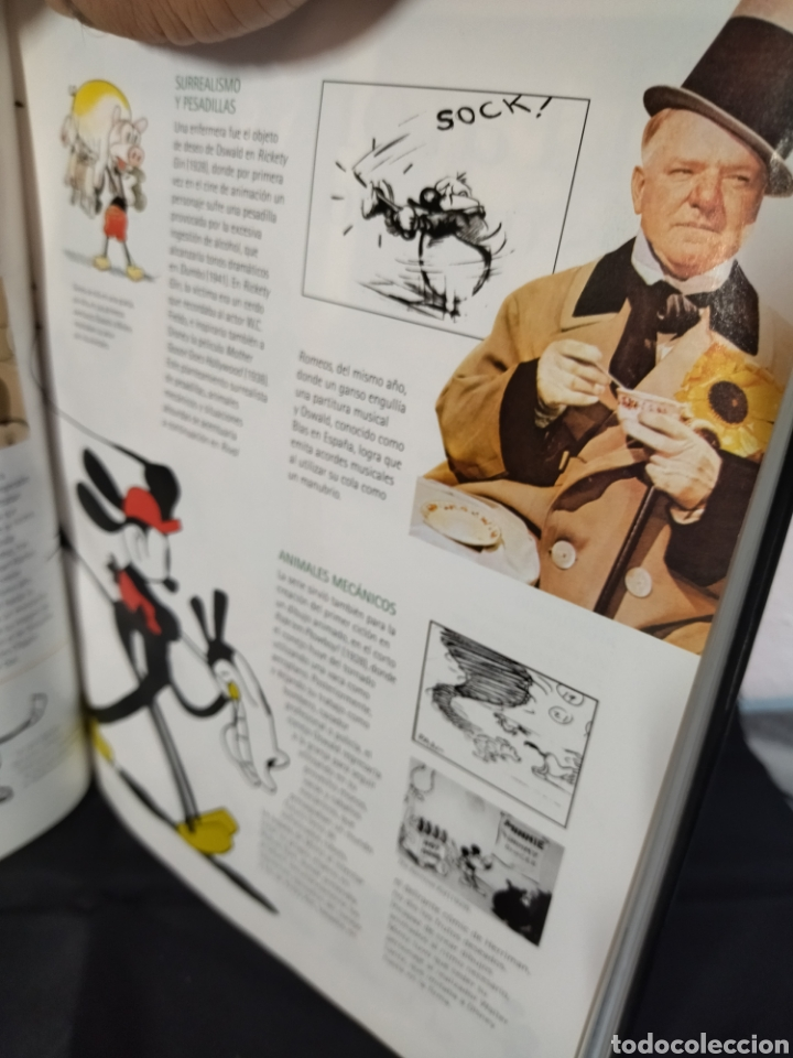 Libros: Libro de Walt Disney ,100 años de magia ,cantidad de información y documentación gráfica - Foto 8 - 280960858