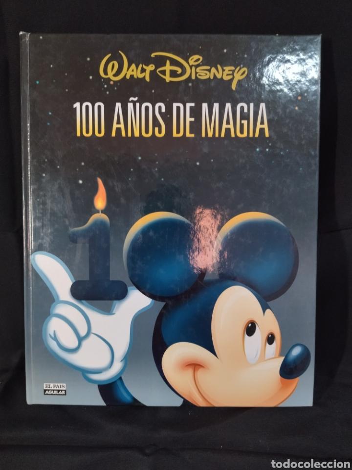 LIBRO DE WALT DISNEY ,100 AÑOS DE MAGIA ,CANTIDAD DE INFORMACIÓN Y DOCUMENTACIÓN GRÁFICA (Libros Nuevos - Literatura Infantil y Juvenil - Literatura Juvenil)