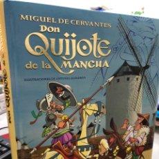 Libri: DON QUIJOTE DE LA MANCHA - ILUSTRACIONES DE ANTONIO ALBARRAN -. Lote 281868073