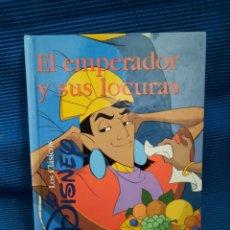 Libros: EL EMPERADOR Y SUS LOCURAS. CLÁSICOS DISNEY EDICIONES GAVIOTA. Lote 282174723