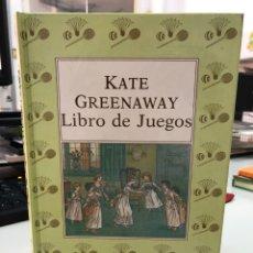 Libri: KATE GREENAWAY - LIBRO DE JUEGOS. Lote 282539333