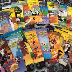 Libros: COMPLETA SUPERESTRELLAS ANIMADAS CUENTOS LOONEY TUBES WARNER BROS 20 LIBROS. Lote 284448638