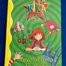 Libros: LIBRO DE KIKA LA SÚPERBRUJA EN EUSKERA , NUEVO. Lote 284807408