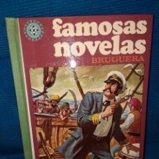 Libros: FAMOSAS NOVELAS BRUGUERA, VOLUMEN VII, 1979. Lote 285532278