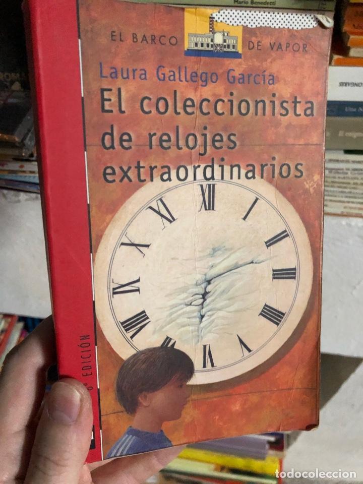 EL COLECCIONISTA DE RELOJES EXTRAORDINARIOS: LAURA GALLEGO GARCIA -EL BARCO DE VAPOR (Libros Nuevos - Literatura Infantil y Juvenil - Literatura Juvenil)