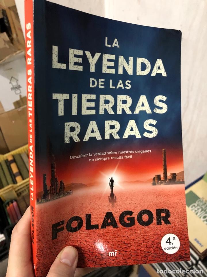 LA LEYENDA DE LAS TIERRAS RARAS - FOLAGOR - (Libros Nuevos - Literatura Infantil y Juvenil - Literatura Juvenil)