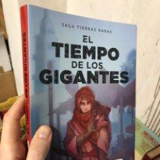 Libri: EL TIEMPO DE LOS GIGANTES - FOLAGOR - LA LEYENDA DE LAS TIERRAS RARAS. Lote 287596483