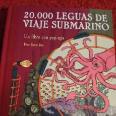 Libros: VEINTE MIL LEGUAS DE VIAJE SUBMARINO POP-UOS. Lote 287944863
