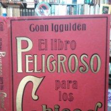 Libros: EL LIBRO PELIGROSO PARA LOS CHICOS-GONNA IGGULDEN/HAL IGGULDEN-EDITA PAIDOS 2008. Lote 287986103