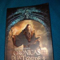 Libros: CRÓNICAS DE LA TORRE I EL VALLE DE LOS LOBOS. LAURA GALLEGO GARCÍA. EDITORIAL ELSA AGUILAR. Lote 288411893