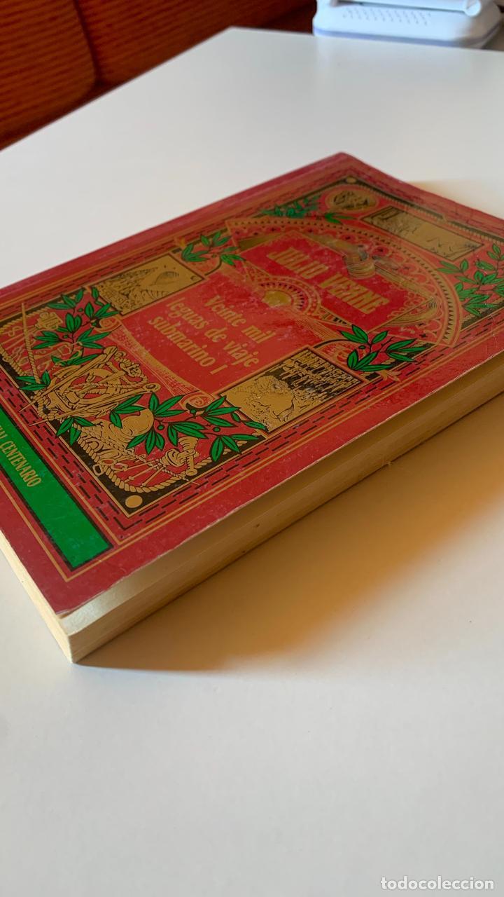 Libros: VEINTE MIL LEGUAS DE VIAJE SUBMARINO I. JULIO VERNE.- EDICION ESPECIAL CENTENARIO - Foto 2 - 288571813