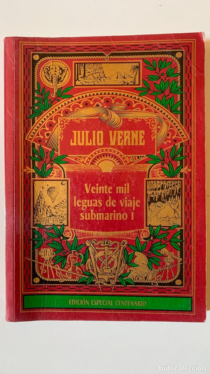 VEINTE MIL LEGUAS DE VIAJE SUBMARINO I. JULIO VERNE.- EDICION ESPECIAL CENTENARIO (Libros Nuevos - Literatura Infantil y Juvenil - Literatura Juvenil)
