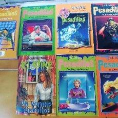 Libros: PESADILLAS,LOTE DE 7,UNO DE TAPA DE DURA CON DOS PESADILLAS INCLUIDAS. Lote 288710883