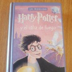 Libros: HARRY POTTER Y EL CÁLIZ DE FUEGO. Lote 293415443
