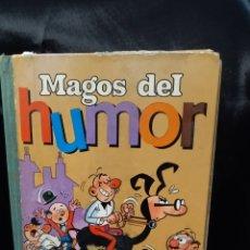 Libros: LIBRO MAGOS DEL HUMOR , 400PAGINAS MORTADELO FILEMON Y OTROS MÁS ,EDICIONES BRUGUERA 1971. Lote 293561808