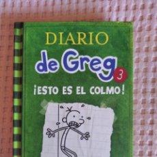 Libros: DIARIO DE GREG 3. Lote 293717493