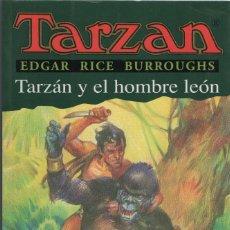Libros: TARZÁN Y EL HOMBRE LEÓN. EDGAR RICE BURROUGHS. EDHASA. 1ªEDICIÓN. 2003.. Lote 294576463