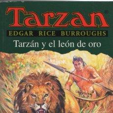 Libros: TARZÁN Y EL LEÓN DE ORO. EDGAR RICE BURROUGHS. EDHASA. 1ªEDICIÓN. 1998.. Lote 294578058