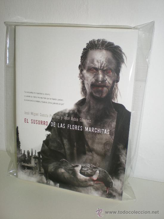 EL SUSURRO DE LAS FLORES MARCHITAS - JOSE MIGUEL CUESTA / JOSE RUBIO SÁNCHEZ - DOLMEN (Libros Nuevos - Literatura - Narrativa - Terror)