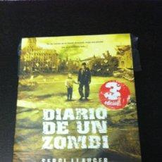 Libros: DIARIO DE UN ZOMBI - SERGI LLAUGER - DOLMEN. Lote 32033207