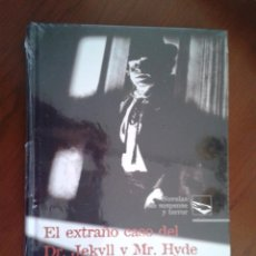 Libros: LIBRO NUEVO RETRACTILADO EL EXTRAÑO CASO DEL DR. JEKYLL Y MR. HYDE - EL CLUB DE LOS SUICIDAS TERROR. Lote 40757260