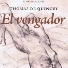 Libros: EL VENGADOR. MADRID: ENEIDA, 2009. 13X21. RÚSTICA CON SOLAPAS. LIBRO. A ESTRENAR ISBN: 978849249137. Lote 52581120