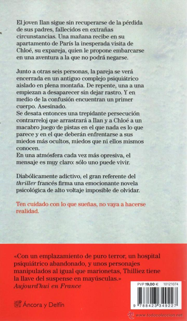 Libros: PARANOIA de FRANCK THILLIEZ - DESTINO, 2015 - Foto 2 - 95775475