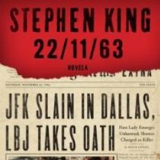 Misterio. Terror. 22/11/63 - Stephen King (Cartoné)
