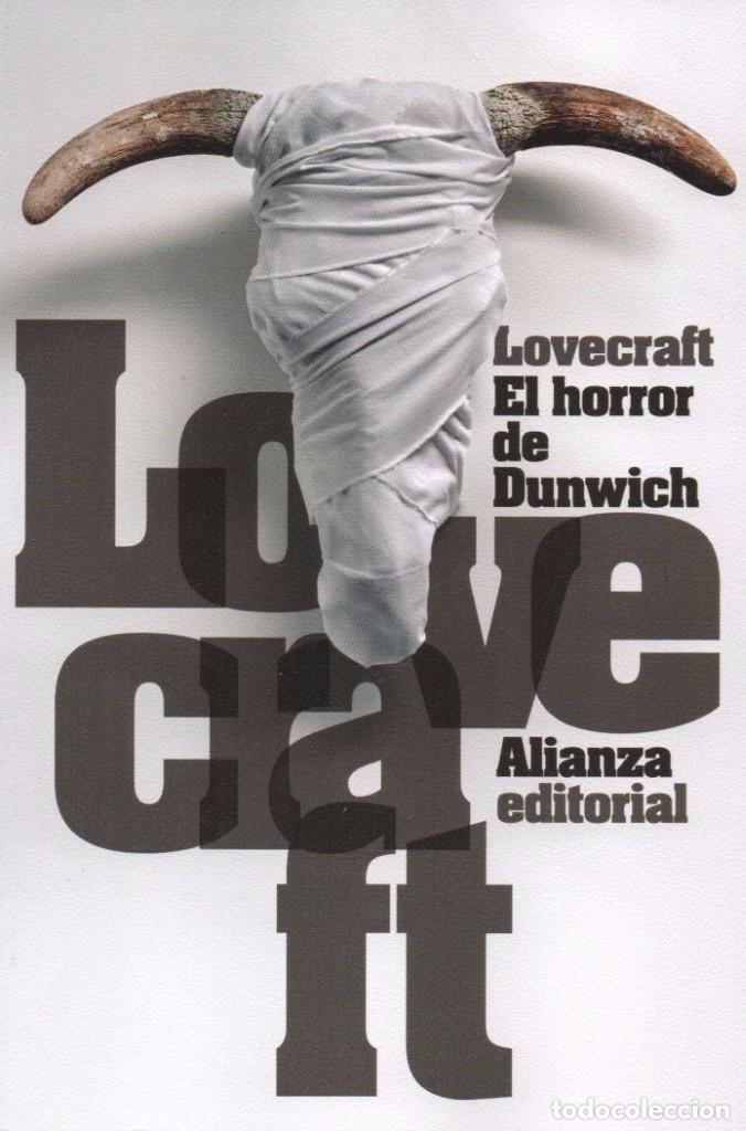 EL HORROR DE DUNWICH DE H.P. LOVECRAFT - ALIANZA EDITORIAL, 2015, BOLSILLO (NUEVO) (Libros Nuevos - Literatura - Narrativa - Terror)