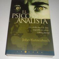 Libros: EL PSICOANALISTA POR JOHN KATZENBACH. Lote 98689779