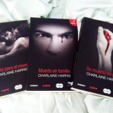 Libros: 12 LIBROS SAGA TRUE BLOOD CHARLAINE HARRIS. Lote 101787163