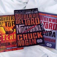 Libros: TRILOGIA TERROR GUILLERMO DEL TORO THE STRAIN. Lote 101787211