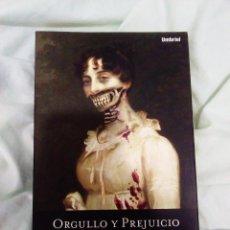 Libros: ORGULLO Y PREJUICIO Y ZOMBIES LIBROS. Lote 101787251