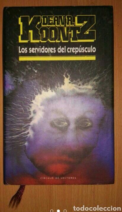 LOS SERVIDORES DEL CREPÚSCULO (Libros Nuevos - Literatura - Narrativa - Terror)