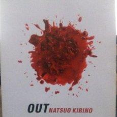 Livros: OUT. NATSUO KIRINO. BOOKET. Lote 107441763