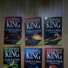 Libros: EL PASILLO DE LA MUERTE, STEPHEN KING - 6 TOMOS DE BOLSILLO,COMPLETO. Lote 108212507