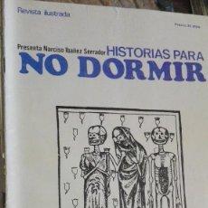 Libros: HISTORIAS PARA NO DORMIR. Lote 113060059