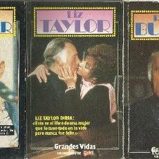 Libros: GRANDES VIDAS GARBO - LOTE 3 EJEMPLARES. Lote 121384503