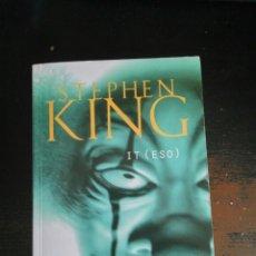 Libros: IT DE STEPHEN KING. Lote 123135406