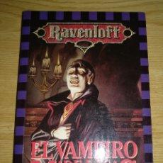 Libros: EL VAMPIRO DE LAS NIEBLAS. Lote 133717994