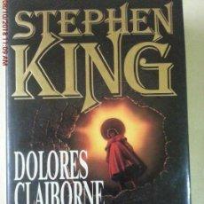 Libros: DOLORES CLAIBORNE - STEPHEN KING. Lote 135653627