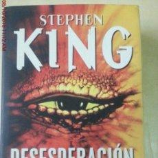 Libros: DESESPERACION - STEPHEN KING. Lote 135655531