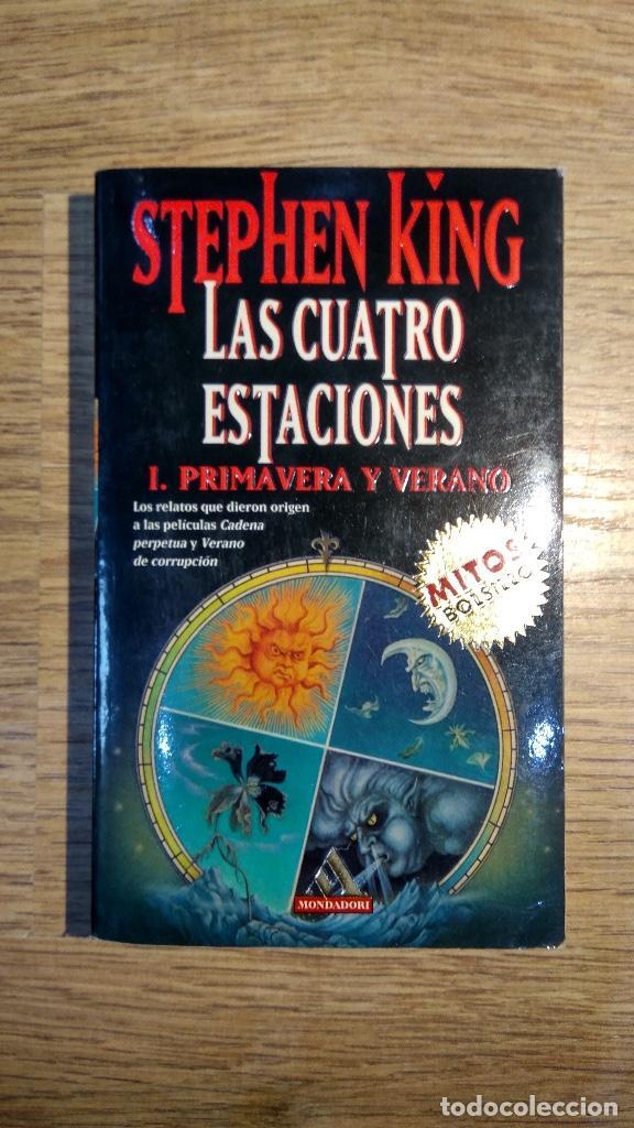 LAS CUATRO ESTACIONES DE STEPHEN KING (Libros Nuevos - Literatura - Narrativa - Terror)