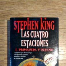 Libros: LAS CUATRO ESTACIONES DE STEPHEN KING. Lote 135796722