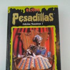 Libros: PESADILLAS EDICION MONSTRUO 1 R.L.STINE. Lote 137193090