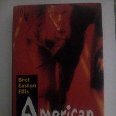 Libros: AMERICAN PSYCHO. BRET EASTON ELLIS.. Lote 137542998