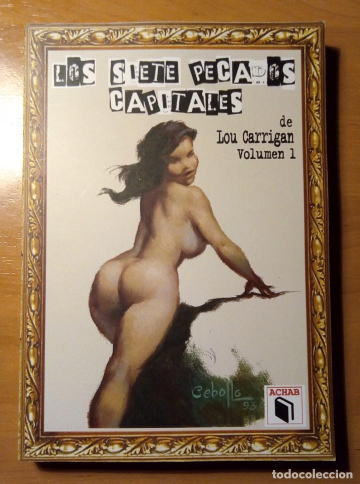LOS SIETE PECADOS CAPITALES - VOL. 1 - LOU CARRIGAN - ACHAB (Libros Nuevos - Literatura - Narrativa - Terror)