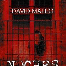 Libros: NOCHES DE SAL (DAVID MATEO) KELONIA 2018. Lote 140430250