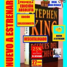 Libros: DESPUÉS DEL ANOCHECER - 13 RELATOS ESCALOFRIANTES - STEPHEN KING - PRIMERA EDICIÓN ABSOLUTA - NUEVO. Lote 143836974