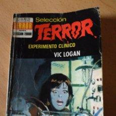 Libros: SELECCIÓN TERROR 101 EXPERIMENTO CLINICO. Lote 150757966